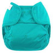 Blueberry Coveralls Nappy Cover, Teal
