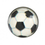 Studex System 75 ear piercing silver studs soccer ball stainless steel 7512-0622
