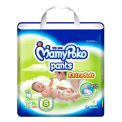 MamyPoko Pants Nappies Extra Soft Size S 19 Pcs.