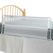 Hide-Away Extra Long 140cm Portable Bed Rail saving you from problems when making the bed or changing sheets.