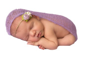 Little Kiddo Lovely Newborn Baby Mohair Crochet Knit Photography Prop Wrap Blanket Photography Outfit