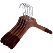 Walleve M037 Solid Wooden Hangers Set of 1/10