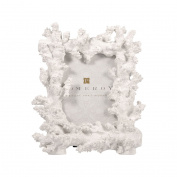 POMEROY 000546 Coralyn 4x6 Picture Frame, White