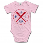 Philadelphia Baseball Baby Sleeveless Bodysuits