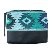 Guatemalan Native Comalapa Clutch Bag Handmade by Hide & Drink :