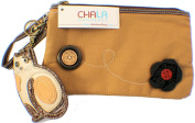 Chala Kitty Cat Purse Clutch Leather Credit Card Coins Key Chain #804Ct7