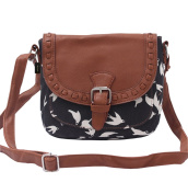 HEYFAIR Women's Retro Canvas Crossbody Purse Shoulder Bag