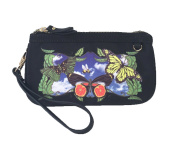 Sydney Love Butterfly Print Wristlet, Black Multi