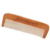 Abraham's Full-Size Wooden Comb - Wood Comb for Thick Beards