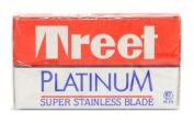 Treet Platinum Super Stainless Double Edge Razor Blades,