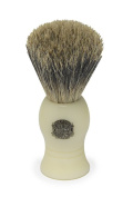 Vulfix 1000A Pure Badger Shaving Brush, Faux Ivory