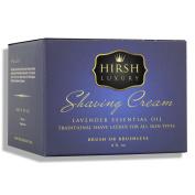Hirsh Luxury Shaving Cream Lavender Essential Oil 240ml
