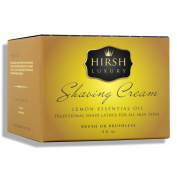 Hirsh Luxury Shaving Cream Lemon Essential Oil 240ml