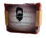 Beer For Beards Pomegranate Poppy Seed Wine Soap, 180ml
