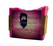 Beer For Beards Strawberry Blush Beer Soap, 180ml