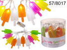 LED Ice Lolly Fairy String Lights Chain Battery Powered