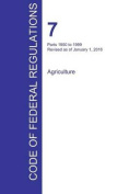 Cfr 7, Parts 1950 to 1999, Agriculture, January 01, 2016
