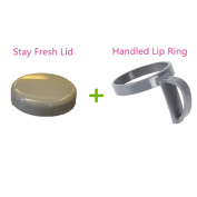 1 PC NutriBullet Handled Lip Ring + 1 PC Stay Fresh Cup Lid Replacement Parts