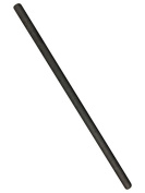 Graphite Rod 30cm Long Stir Rod For Melting Casting Refining Gold Silver Copper 1.3cm Dia.
