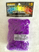 The Beadery Wonder Loom Purple Rubber Bands Refill with 24 Clips