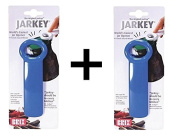 Brix JarKey Jar Opener, The Original JarPop! - Assorted Colours