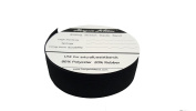 2.5cm Wide 5 Metres Long Black Springy Stretch Knitting Elastic Band Spool With High Elasticity