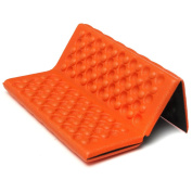 New Chic Portable Foldable Folding Foam Waterproof Chair Cushion Seat Pad Orange
