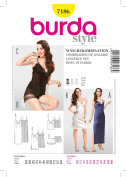 7186 Burda Style Lingerie Set Sewing Pattern Sizes 10-30