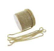 yueton 11 Yards Crystal Rhinestone Close Chain Trimming Claw Chain Jewellery Crafts DIY