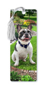 Dimension 9 3D Lenticular Bookmark with Tassel, French Bulldog, Pet Breed Series