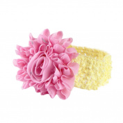 Bilila Girls Boys Baby Headbands Flower Hair Accessories Infant Hair Band
