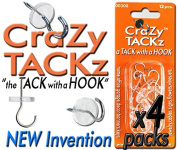 CraZy TACKz 48tacks (Round & Clear)