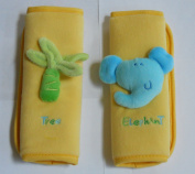Especially for Baby Plush Strap Covers - Yellow
