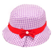 Usstore Kids Baby Cotton Sun Hat Hair Band Headwear Beanie Bow Cap
