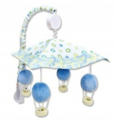 Baby Boy Dr. Seuss Blue Oh, The Places You'll Go! Musical Mobile