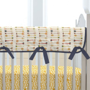 Carousel Designs Tribal Arrow Crib Rail Cover