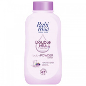 Babi Mild Natural 'N Mild Baby Powder Double Milk Protien Plus