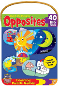 Mini Learning Games Opposites 40-Piece Matching Puzzle