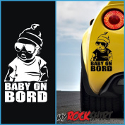 """'Baby On Board """"Hangover Hangover"""" Funny Cool Baby on Board' Sticker, + Bonus Sticker ESTREL Lina """"Lucky Star 25cm Myrockshirt - Insured Shipping from Germany Within 48 Hours, Printed in German) with Tracking Number in a Sturdy Cardboard Postal Boxes/M .."""