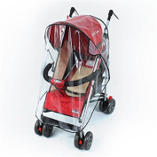 Akimgo(TM) Universal Strollers Pushchairs Baby Carriage Waterproof and Durable Rain Cover Wind Shield