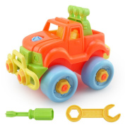 isremi(TM) BS#S Pop Christmas Gift Kids Child Baby Disassembly Assembly Classic Car Toy