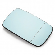 XCSOURCE BLUE Mirror Glass for BMW 3 Series E46 E39 318I 320I 325I 330I Passenger Side View Right MA597