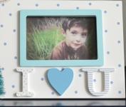 ZQQ Children photo frame ornaments