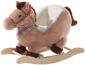 Heunec 729971 - Rocking Horse - Brown