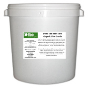 DEAD SEA BATH SALTS | FINE | 5KG TUB | 100% Natural Organic | FCC Food Grade