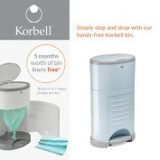 Korbell Standard 16 litre Nappy Bin