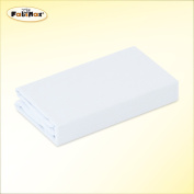 FabiMax 2673 Cot Jersey Fitted Sheet 70 x 140 cm White