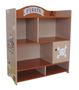 Bebe Style Children's Pirate Wooden Large Storage Unit+Shelves+Wardrobe+Cupboard