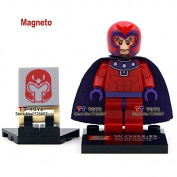Sempera(TM) Single sale Shen Yuan 069 Marvel X-man Magneto Minifigures Collection GIFT Building Block Best Children Gift Toy