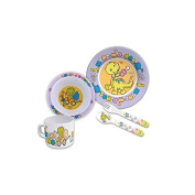 Planet Baby Melamina Tableware 5 Pc
